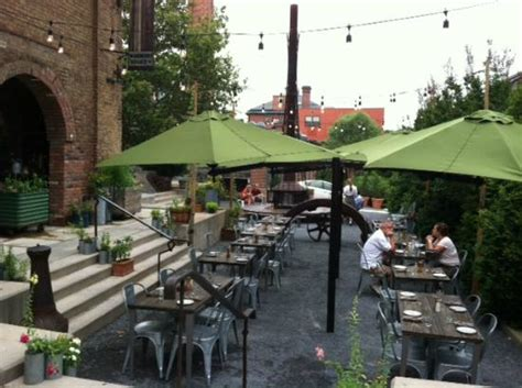 outdoor seating area picture  woodberry kitchen baltimore tripadvisor