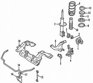 Nissan Pathfinder Seat  Suspension  2wd  From 12  98  4wd