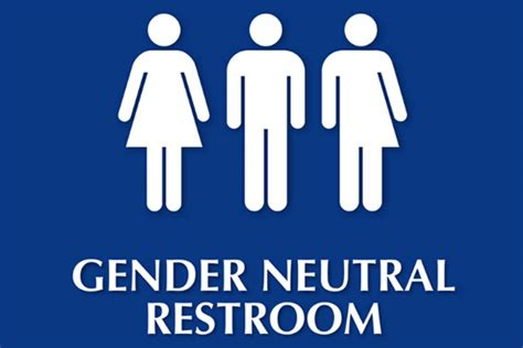 converts single sex washrooms   gender