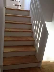 Renovation D Escalier En Bois : enduit d coratif sur escaliers strasbourg ccr ation de ~ Premium-room.com Idées de Décoration