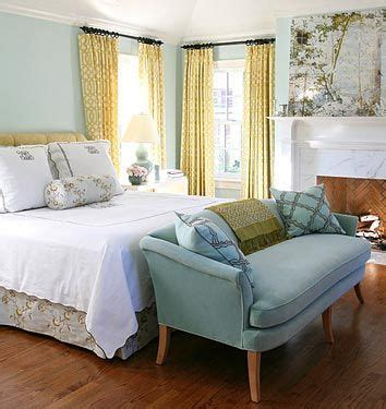 Light Blue Walls And Yellow Curtains  Favorite Spaces