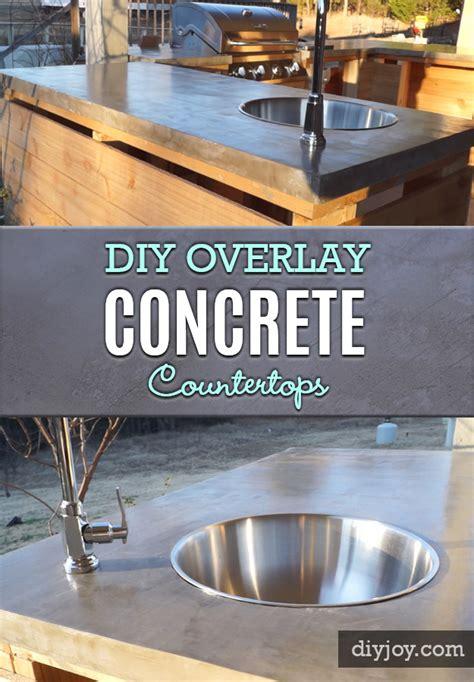 brilliant diy concrete countertops are easier than you