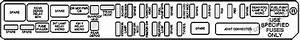 Fuse Box Diagram Cadillac Cts  2003