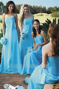blue dresses for wedding beautiful light blue chiffon bridesmaid dresses to inspire you cherry