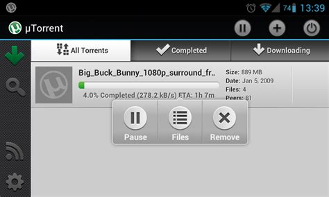 utorrent for android utorrent now available for android web upd8 ubuntu