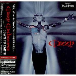 Ozzy Osbourne Down To Earth Japanese CD album (CDLP) (401390)