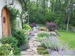 Romantic Guesthouse Garden  Shabby Chic  Landscape  Philadelphia  By Dear