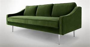 Modern green sofa epic dark green couch 92 for your sofas for Dark green sectional sofa