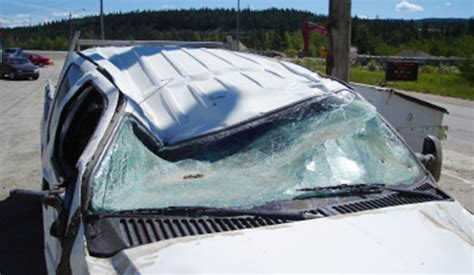 Roof Crush Resistance And Rollover Car Accidents