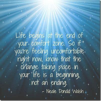life begins      comfort zone   youre