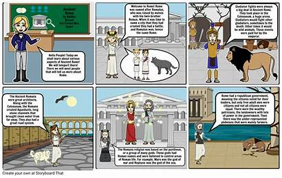 Storyboard Rome Ancient Storyboards