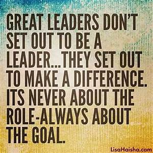 LEADERSHIP BY GREAT LEADERS Quotes Like Success