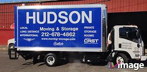hudson moving nyc ny isuzu npr box truck lettering With truck lettering bronx ny