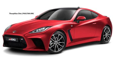 toyota gr rendered  coupe   turbo