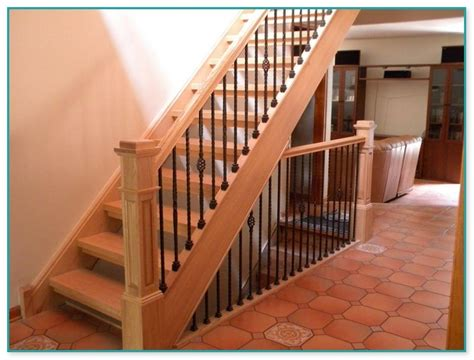 wrought iron stair balusters design