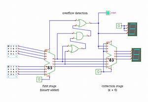 Bcd Adder Circuit Diagram