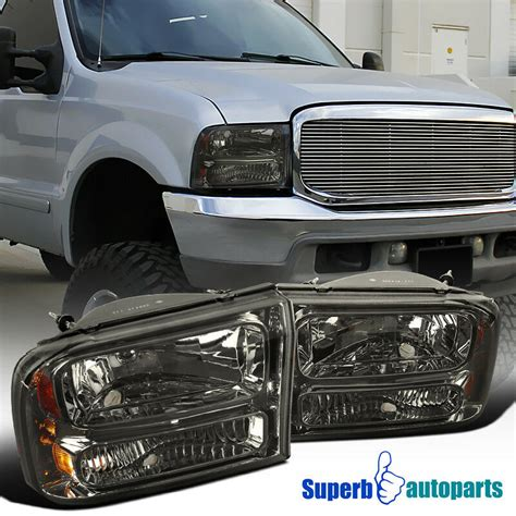 ford ff super duty smoke lens pc style