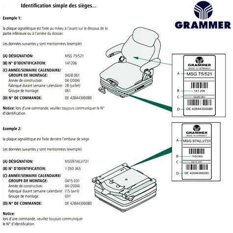 siege pneumatique grammer siege grammer maximo professional siège grammer pneumatique