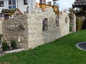 Steinmauer Garten Bilder : steinmauer garten sichtschutz ~ Bigdaddyawards.com Haus und Dekorationen