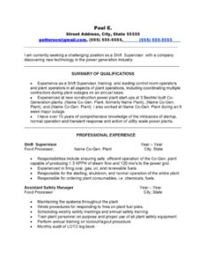 Power Plant Dcs Operator Resume by Free Resume Sles By Professional Resume Writer In Minnesota Executive And Professional
