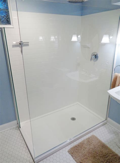 Tiled Shower Pan - how to choose between a solid surface or ready for tile