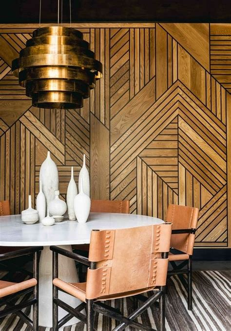 unique art deco chevron wood pattern art deco interior