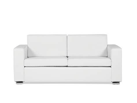 canapé en blanc canapé en cuir canapé 3 places canapé blanc canapé en