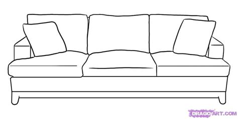 How To Draw A Couch Step 5