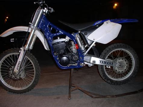 06 yz 450 f with a yz 250 2 stroke motor is it possible yamaha 2 stroke thumpertalk