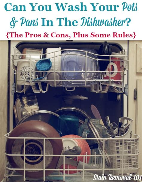 pots cleaning dishwasher pans removal stain wash cookware bakeware hand tips washing stainless steel should baking place sheets kitchen