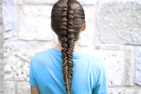 how to create an infinity braid combo cute girls hairstyles