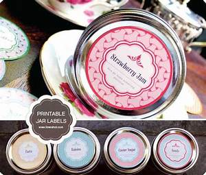 free printable mason jar labels passion for savings With jar lid labels round
