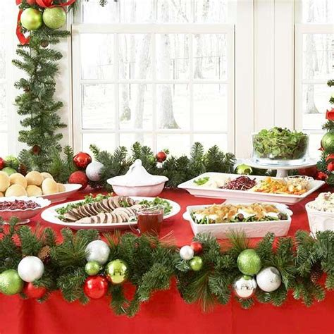 casual christmas eve buffet ideas buffet serving ideas to ideas buffet tablescapes