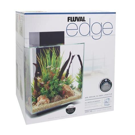 15392  Fluval Edge 46l (12 Us Gal) Aquarium Set White