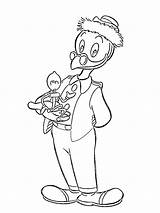 Gyro Gearloose Coloring Pages Ducktales Total Nice sketch template