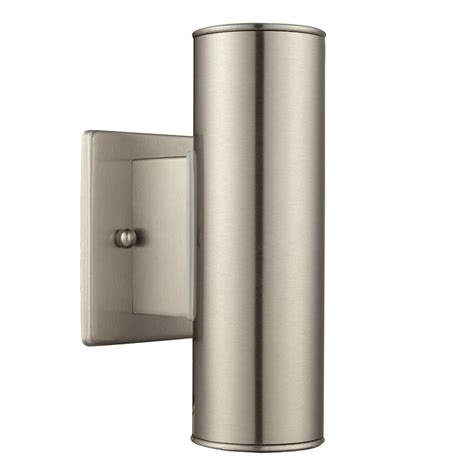 home decorators collection riga 2 light stainless steel