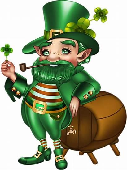 Leprechaun Patrick Clipart March Saint Ireland Patricks