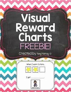 Asd Behaviour Chart Visual Reward Chart Freebie Great For Students With