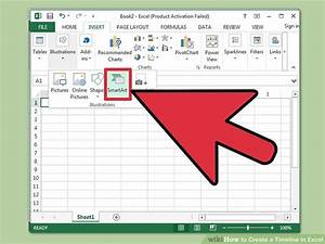 Creating Timeline In Excel 3 Ways To Create A Timeline In Excel Wikihow