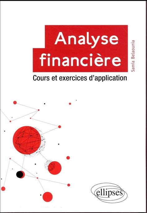 analyse financiere cours  exercices dapplication