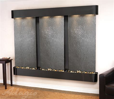 wall water features indoor and outdoor wall mounted