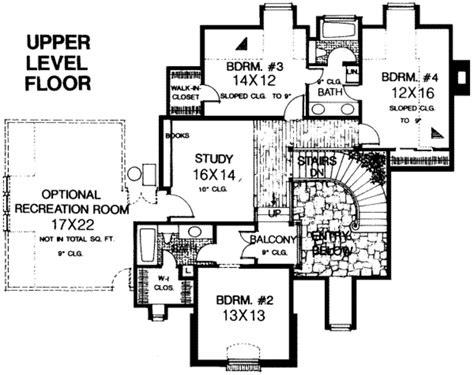 ranch house plans with 2 master suites european style house plan 5 beds 3 5 baths 4000 sq ft