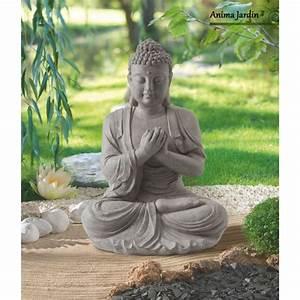 Statue Bouddha Interieur : decoration exterieur bouddha deco jardin solaire maison email ~ Teatrodelosmanantiales.com Idées de Décoration