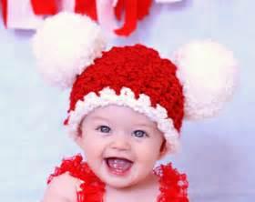 baby christmas hat baby santa hat newborn baby by tsbphotoprops