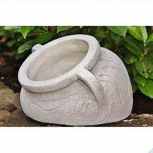 Blumentöpfe Aus Stein : kleine amphore aus steinguss mit lochbohrung ~ Lizthompson.info Haus und Dekorationen