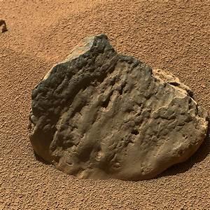 Curiosity Rover Photographs Diverse Rocks