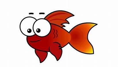 Fish Clip Orange Animated Balık Balloons Wacom