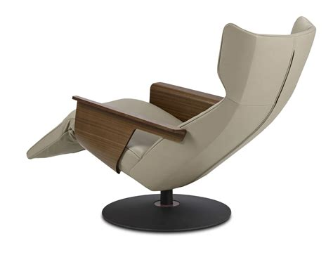 Fernsehsessel Modern Leder by Contemporary Leather Recliner Armchair With Footstool