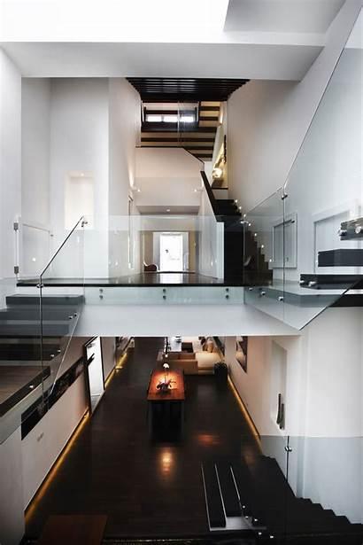 Singapore Modern Shophouse Luxury Architects Renovation Stairs