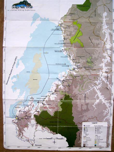 Congo Nile Trail Map